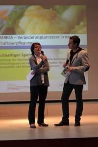 Andrea Schwecherl (MA27) stellt die neue Programmperiode 2014-2020 vor