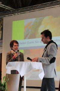 Christina Schmidt (Krankenhaus Hietzing) spricht über ihre Erfahrungen und umgesetzte Maßnahmen im Projekt UMBESA
