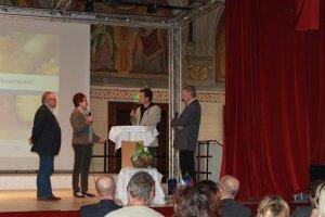 Interviewsession mit KüchenleiterInnen und dem Projektverantwortlichen in Tschechien