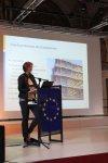 Andrea Weidenauer (Krankenhaus der Elisabethinen Linz) stellt ihre innovative Frischküche vor