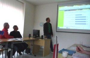Projektfortschrittssitzung in Jihlava