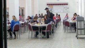 Speisesaal in der Universität Budweis